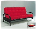 Metal Futon Frame with Pad