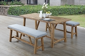 3 Pcs Counter Height Outdoor set