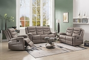 FIACRE - Brown Velvet Motion Sofa