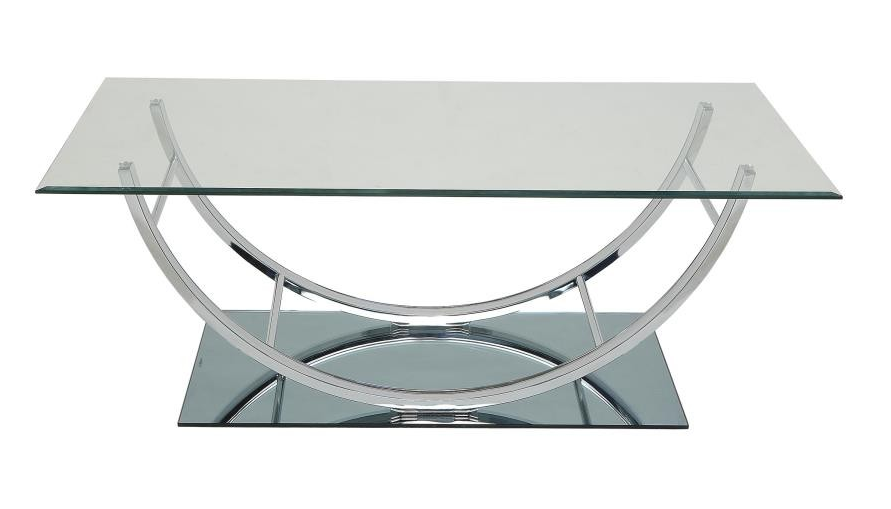Chrome Base Coffee Table