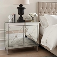 Mirrored Accent Cabinet