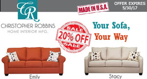 Christopher Robbins Sofa Collections