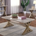 Genuine Marble Top Coffee Table