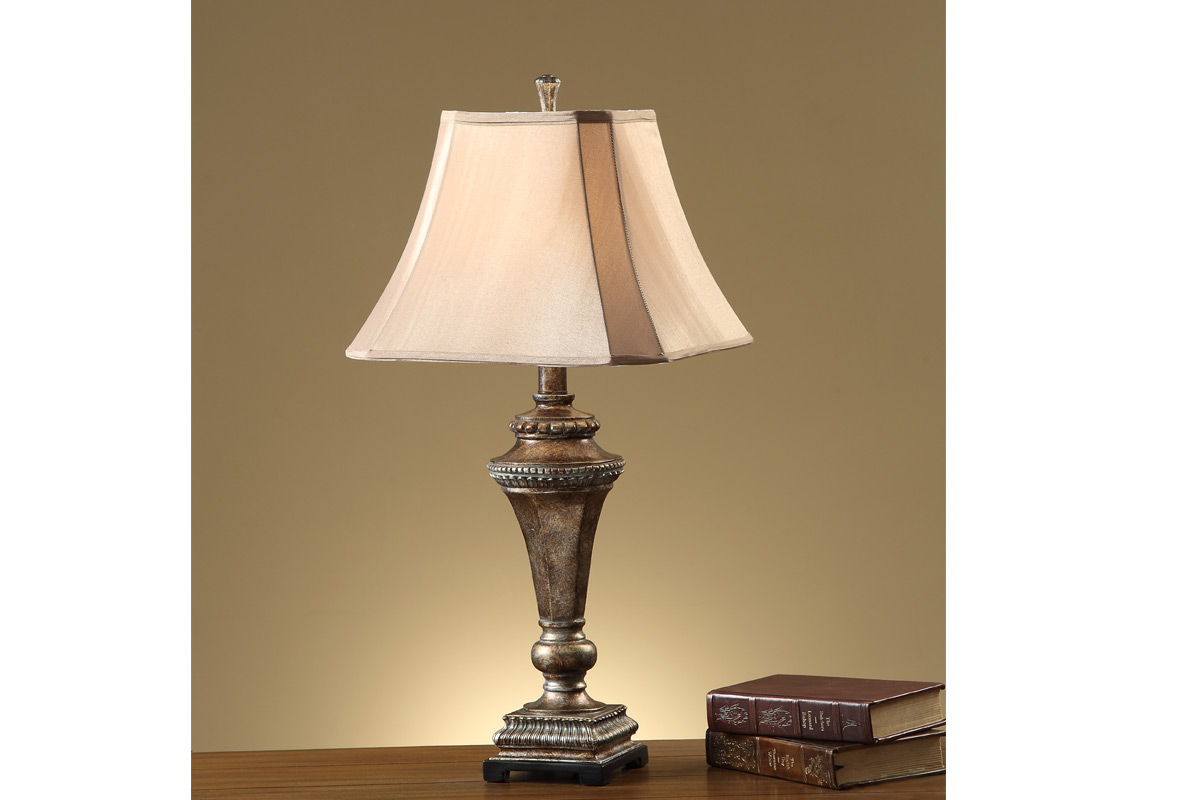 Bronze Rustic Finish Table Lamp