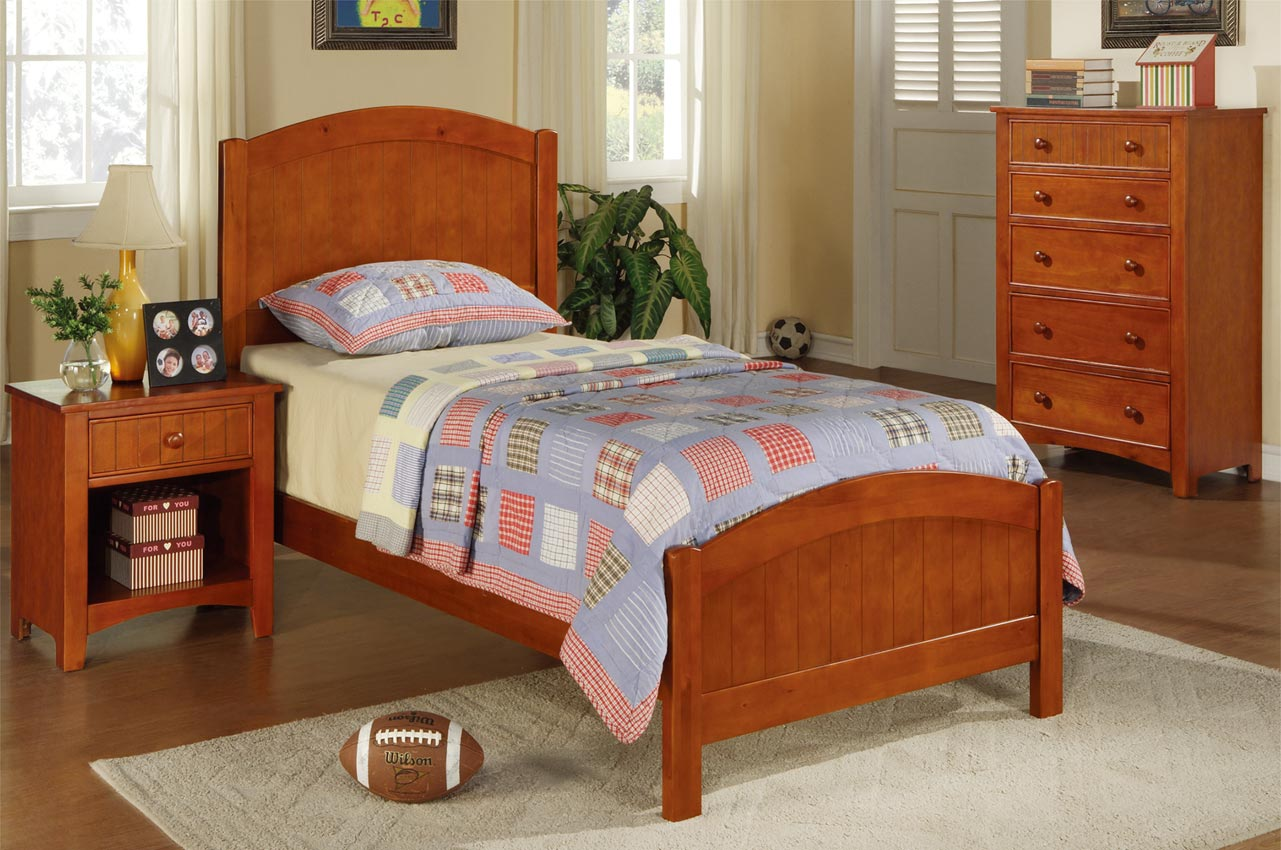 Twin Cherry Bed Frame