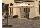 10' Cantilever Umbrella  with Led Lighting