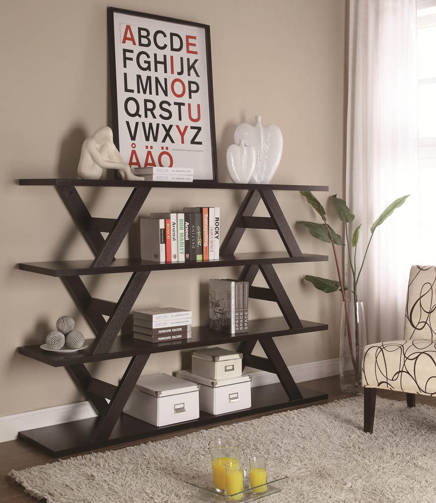 Bookcases 3 Tier Stacked Bench Bookshelf