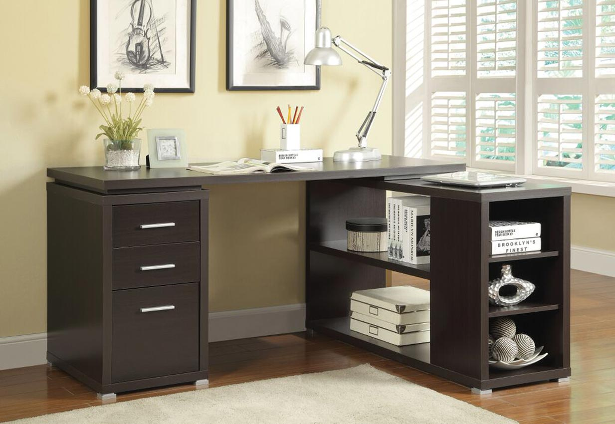 File Cabinet Desk L Shape