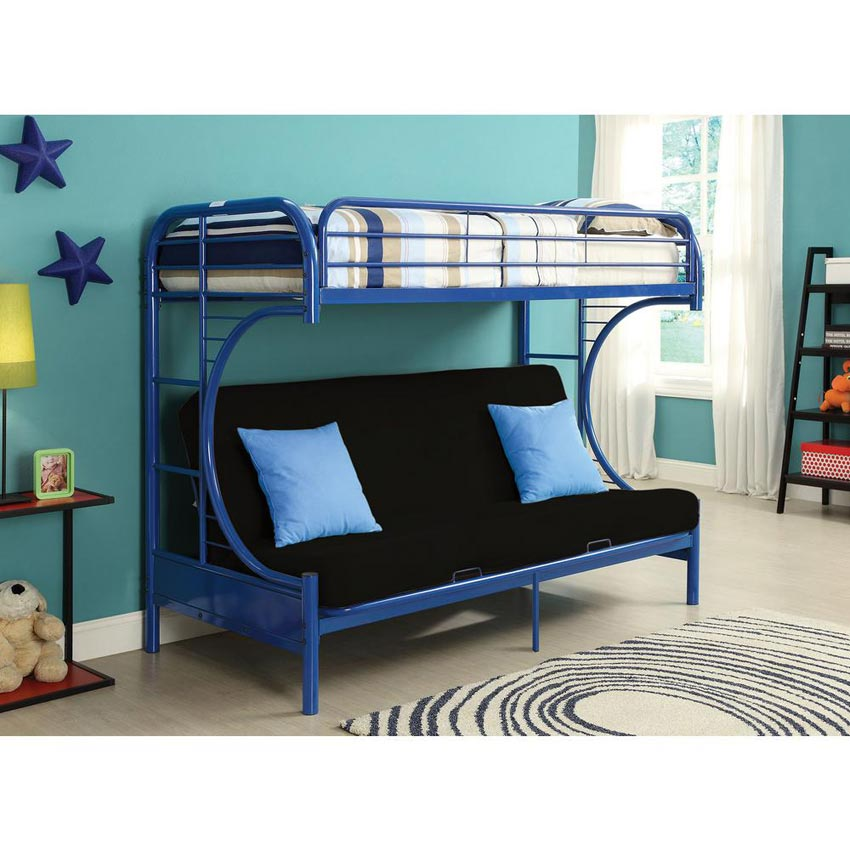 twin on top and futon on the bottom making it the perfect white metal bunk bed mattress and. Black Bedroom Furniture Sets. Home Design Ideas