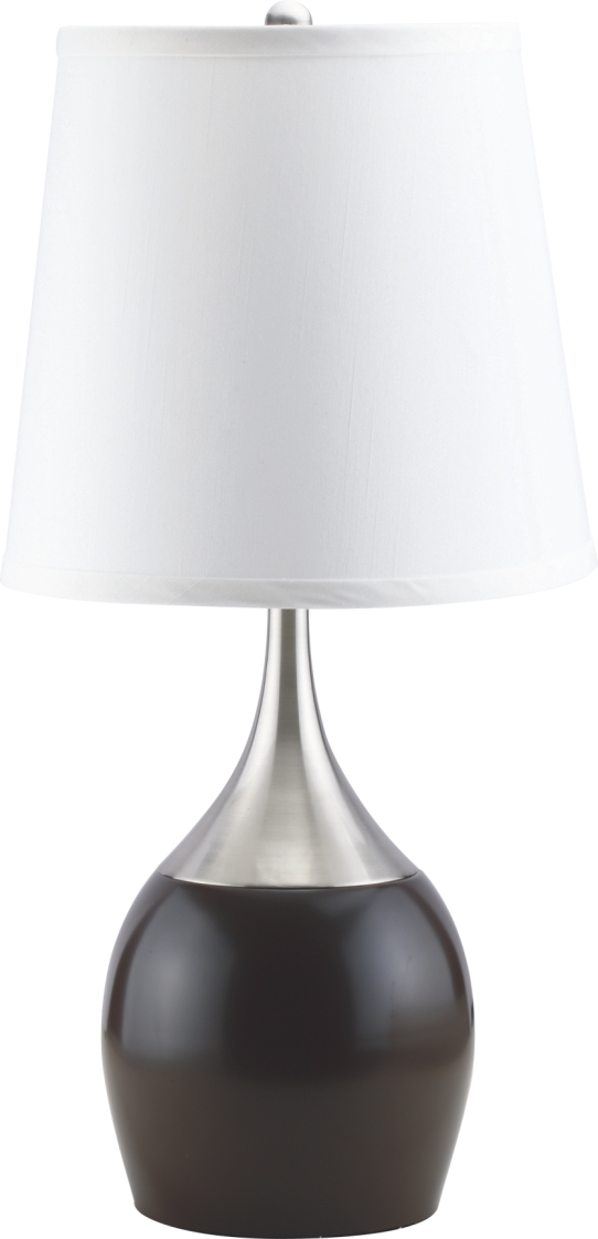 Black and silver table lamp for Black and silver lamps
