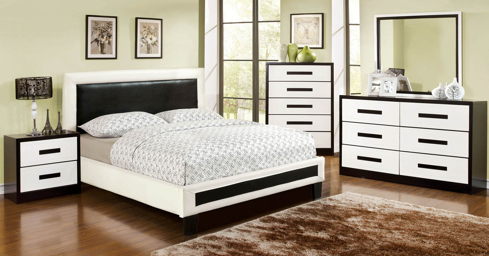 european style queen bed frame