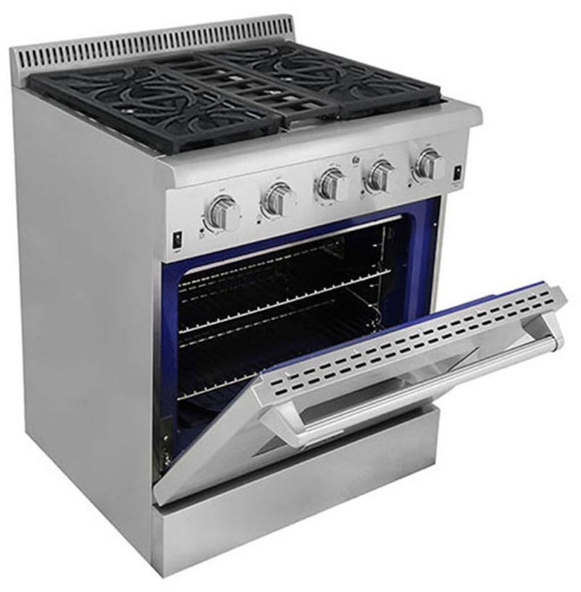Stoves Kitchen Appliances ~ Thor kitchen quot freestanding gas range with cu ft