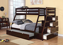 Twin/Full Bunk Beds