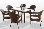 7 Piece Dining Set in Espresso
