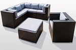 Reversible Sectional Set with Ottoman