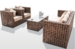 4 Piece Deep Seating  Sofa Set