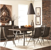 Fremont Industrial Dining Table Set