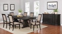 Whitney Black Dining Table Set