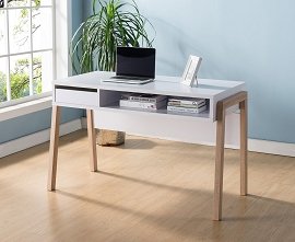 White & Weathered Desk