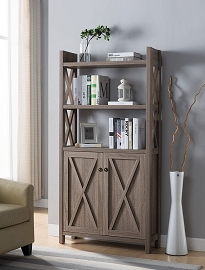 Dark Taupe or Dark Brown Book shelf