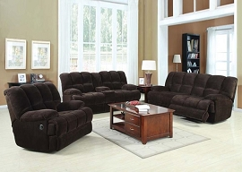 AHERAN - Chocolate Champion Motion Sofa