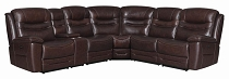 Destin 6-Piece Modular Power^2 Sectional Brown