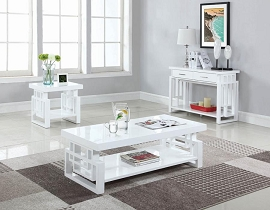 White Square Coffee table 31