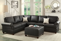 2PC Sectional Sofa - Optional Ottoman