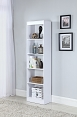 Bookcases 5 Shelf Narrow Transitional Bookcase