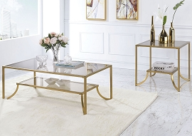 Magalie Gold Coffee Table