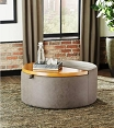 Upholstered Lift Top Ottoman