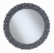 Grey Finish Glamour mirror