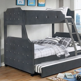 JOMEI Twin over Full Bunk Bed
