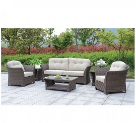 Bowbells 6 Pc. Patio Set W/ Coffee Table & 2 End Tables -OUT OF STOCK