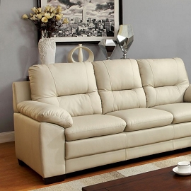 Parma Sofa- Ivory, Brown, or Black