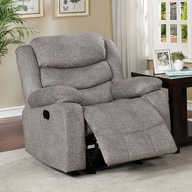 Castle Ford Light Grey Recliner
