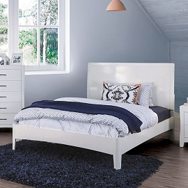 Deanne White Bed Frame