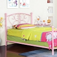 Princess Design Metal Bed Frame