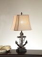 Ship Anchor Table Lamp