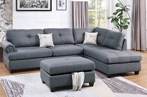 3-PCS Sectional Set - Color Option