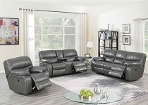 Dark Grey Breathable Leatherette Sofa- with Love seat option ( OUT OF STOCK ETA in 10 days of 2020-12-14 )