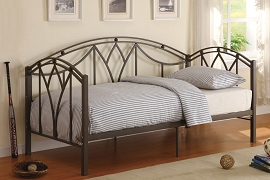 Metal Day Bed with Mattress