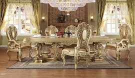 HD-8016 DINING TABLE Homey Design Victorian, European & Classic Design