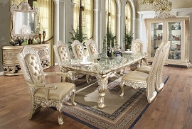 HD-8022 DINING TABLE Homey Design Victorian, European & Classic Design