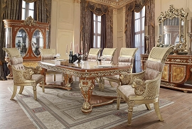 HD-8024 DINING TABLE Homey Design Victorian, European & Classic Design