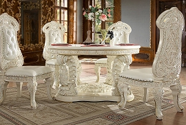 HD-8089 Round DINING TABLE Homey Design Victorian, European & Classic Design  (COPY)