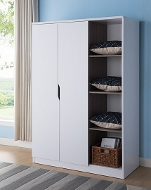 Large Wardrobe- White or Red Cocoa