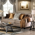 Camilla Sofa Beige Fabric