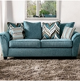 River Sofa Collection Teal Fabric