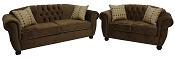 2 Pcs Napoleon Sofa Set
